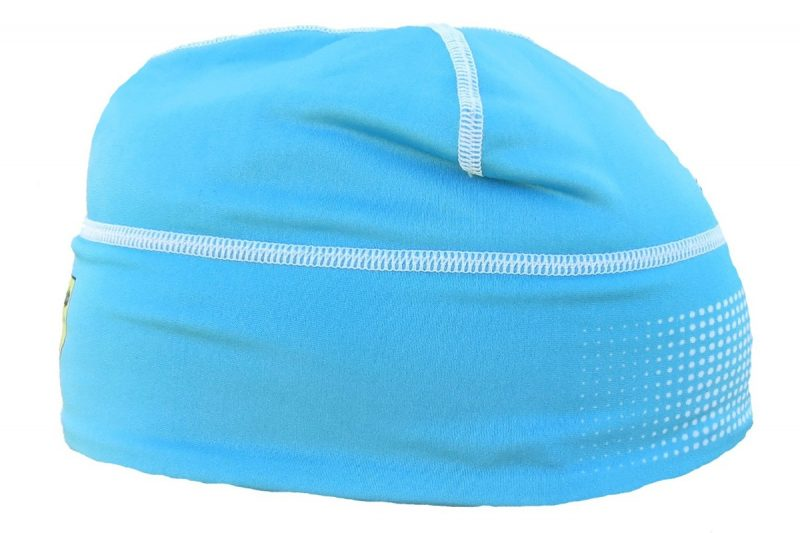 Davos Hat Blue Side View