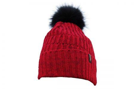 St Moritz Hat Red