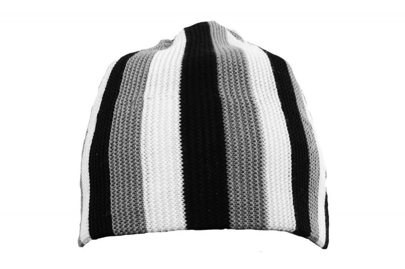 Wasatch Hat Black White
