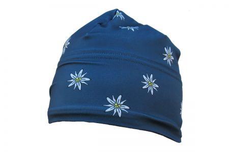 Edelweiss hat steel blue