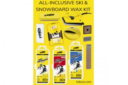 All Inclusive Ski and Snowboard Wax Kit Image