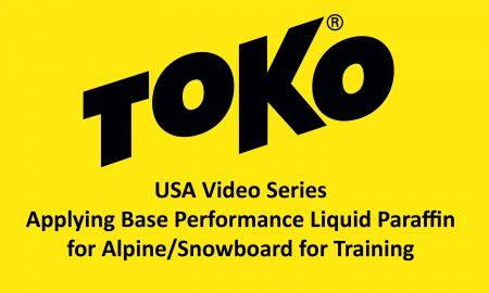 Toko Applying BPLP Alpine for Training