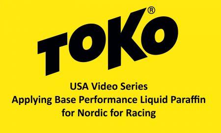 Toko Applying BPLP Nordic for Racing